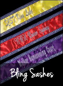 Bling Sashes