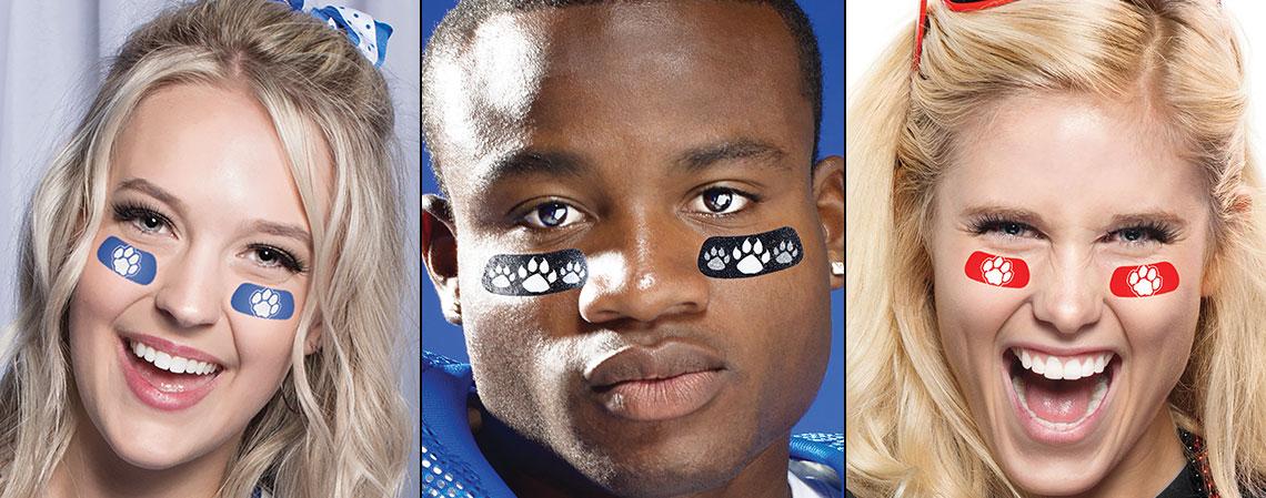 Eyeblacks & Temp Tattoos