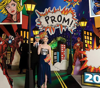 Movies and TV Prom Themes