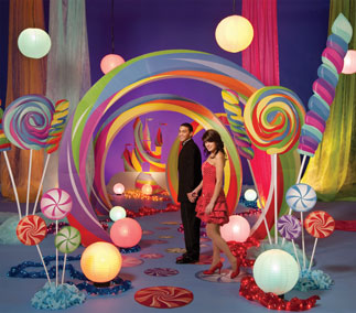Candy and Whimsical Prom Themes