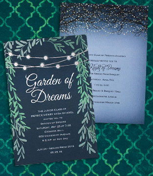 Digital/Foil Invitations
