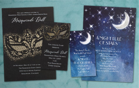 Invite & Ticket Sets