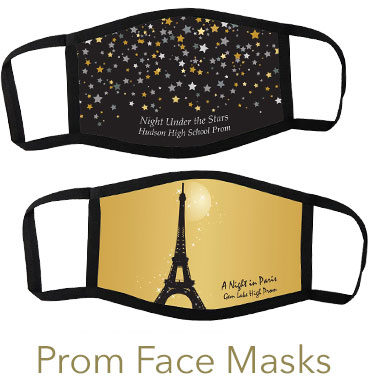 Prom Face Masks