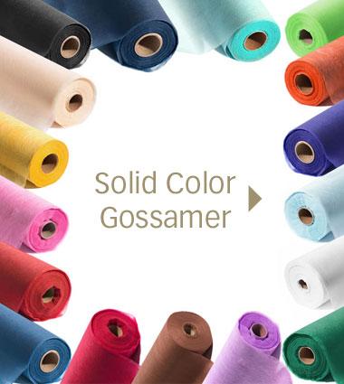 Solid Color Gossamer