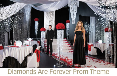 Diamonds Are Forever Prom Theme