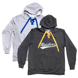 Lace Up Sweatshirt-Laser