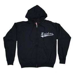 Zip Up Hoodie Sweatshirt-Laser