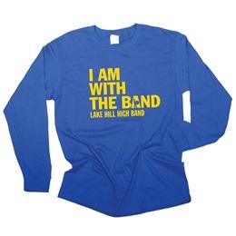 Men's Long Sleeve Screen Printed T-Shirt