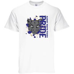 Custom White T-Shirt - Panther Pride