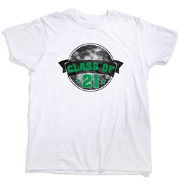 Custom White T-Shirt - Class of 21