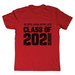 Custom Soft-spun T-shirt - Class of.../Seniors
