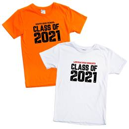 Custom Soft-spun T-shirt - Class of 2021