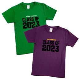 Custom Soft-spun T-shirt - Class of 2022