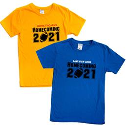 Custom Homecoming 2021 T-shirt