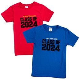 Custom Soft-spun T-shirt - Class of 2024