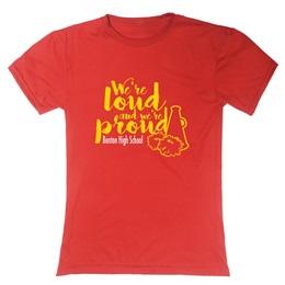 Soft Spun Women's Fit T-Shirt-Screen Printed
