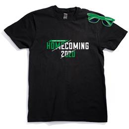 Men's Black T-shirt and Sunglasses Set - Homecoming 2020