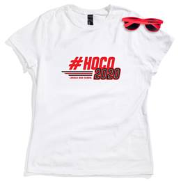 Women's White T-shirt and Sunglasses Set - #HOCO 2020