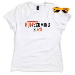 Women's White T-shirt and Sunglasses Set - Homecoming 2020