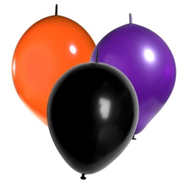 12 in Link-O-Loons Balloons 50 Pack