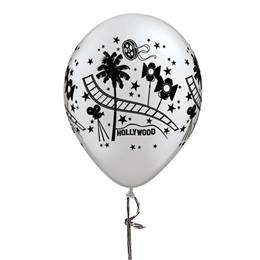 Silver Hollywood Balloon