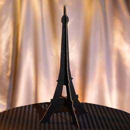 Eiffel Tower Silhouette Centerpiece