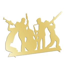Gold Big Band Centerpiece