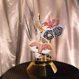 Masquerade Centerpieces Kit (set of 4)