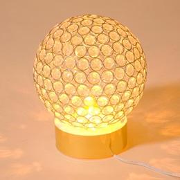 Golden Light Globe Centerpiece Kit