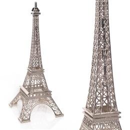 Eiffel Tower Centerpiece - Silver