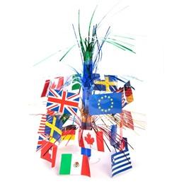 International Flag Centerpiece