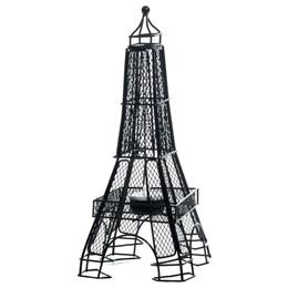 Black Wire Eiffel Tower Centerpiece (set of 2)