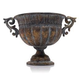 Metal Bowl Centerpiece
