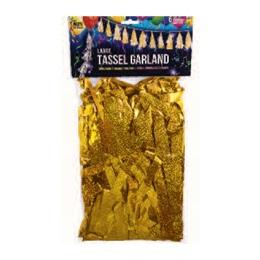 Balloon Tassel - Gold
