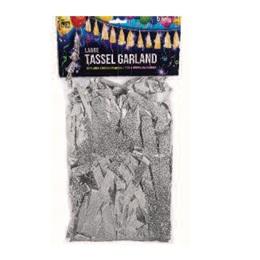 Balloon Tassel - Silver