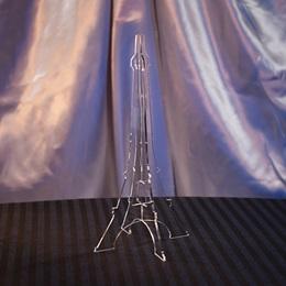 Clear Acrylic Eiffel Tower Centerpiece