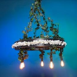 Country Night Lights Hanging Wheel Kit