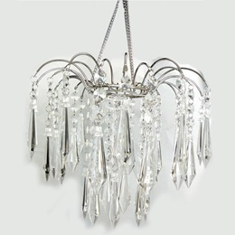 Radiant Gemstone Chandelier