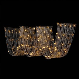 Lighted Wave Curtain, 14 ft. 6 in.