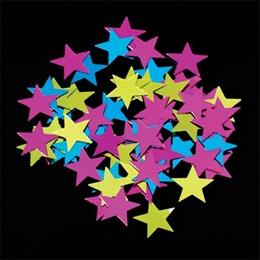 Star Confetti - Neon