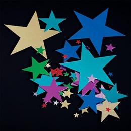 Multi-size Star Confetti