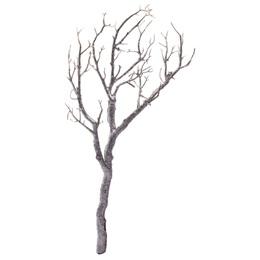 Manzanita Glitter Tree Branch - Silver