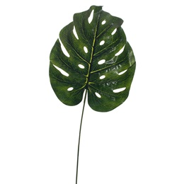 Dark Green Artificial Palm Leaf