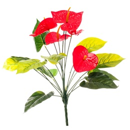 Artificial Anthurium Flower Bunch