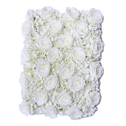 White Roses/Hydrangeas Flower Panel
