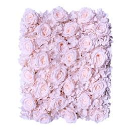 Blush Roses/Hydrangeas Flower Panel