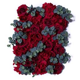 Red Roses/Eucalyptus Flower Panel