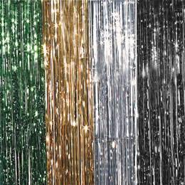 3 x 4 Metallic Curtain