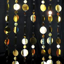 Golden Circles Curtain
