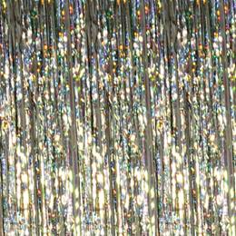 Iridescent Holographic Curtain